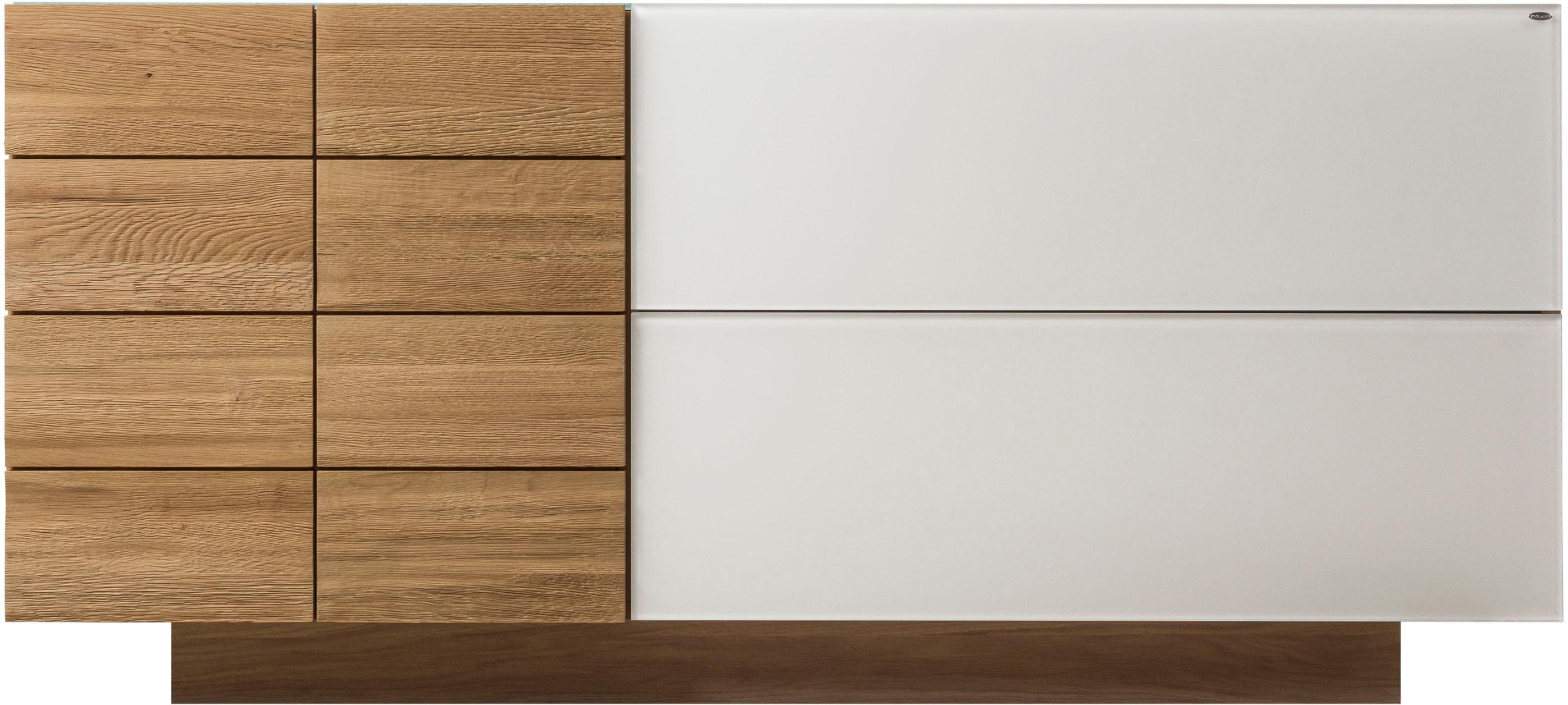 VOGLAUER Sideboard V-MONTANA mit 1 Tür und 2 Schubladen Breite 160 cm