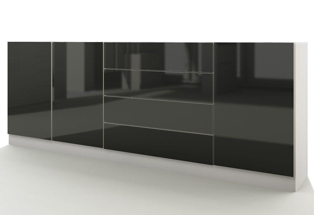 Borchardt Möbel Sideboard »Vaasa« Breite 190 cm mit Push to Open-Funktion