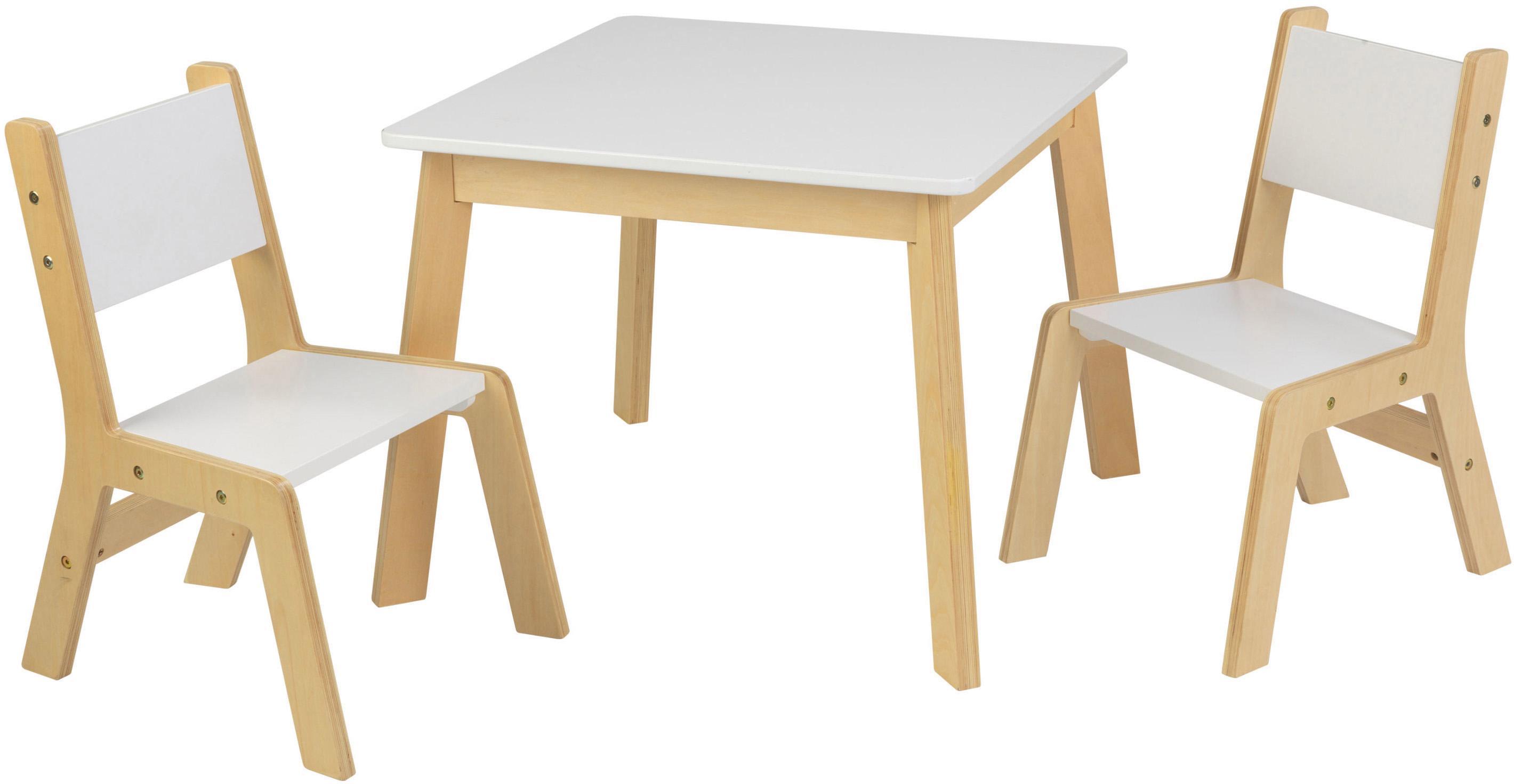 KidKraft® Kindermöbel, »Moderner Tisch mit 2 Stühlen« auf Raten
