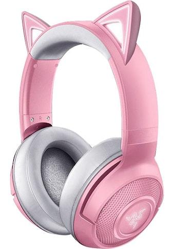 RAZER Gaming-Headset »Kraken BT Kitty Edition - Quartz«, Bluetooth, Rauschunterdrückung kaufen