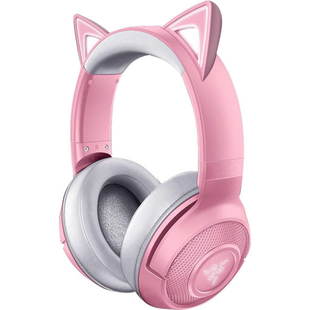 RAZER Kopfhörer »Kraken BT Kitty Edition - Quartz«, Bluetooth, Rauschunterdrückung
