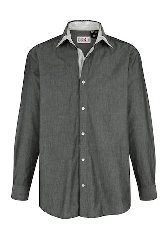 Roger Kent Langarmhemd, mit verstellbaren Manschetten kaufen