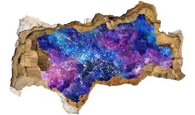 Wall-Art Wandtattoo »Nebula Sticker 3D Weltall Sterne« kaufen