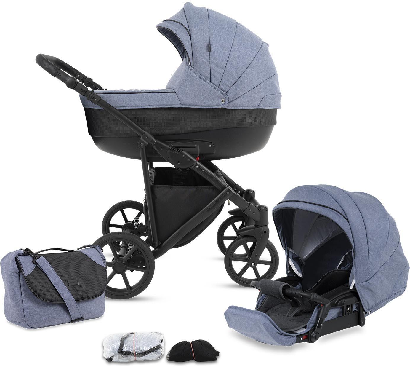 """Knorrbaby Kombi-Kinderwagen """"Madeira blau"""" Kindermode/Ausstattung/Kinderwagen & Buggies/Kinderwagen/Kombikinderwagen"""