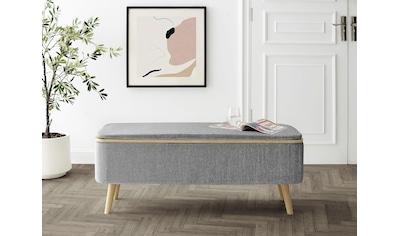 andas Polsterbank »Randers«, mit Stauraumfunktion, Design by Morten Georgsen kaufen