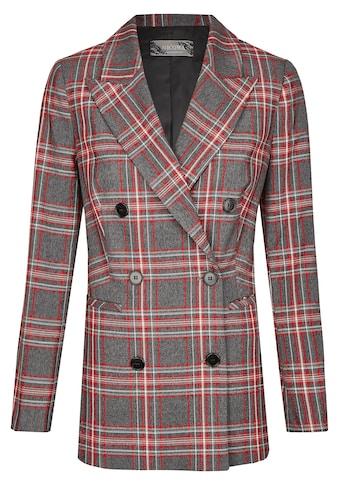 Nicowa Long-Blazer mit breitem Reverskragen - BEGONIWA kaufen