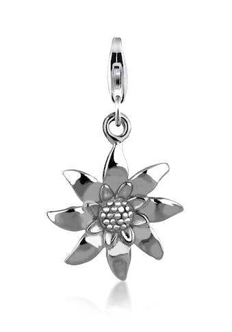 Nenalina Charm-Einhänger »Edelweiss Blume Wiesn Anhänger 925 Silber« kaufen