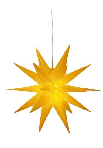 BONETTI LED Stern »3D-Optik«, Warmweiß, Ø 57 cm, mit 6-Stunden-Timer kaufen