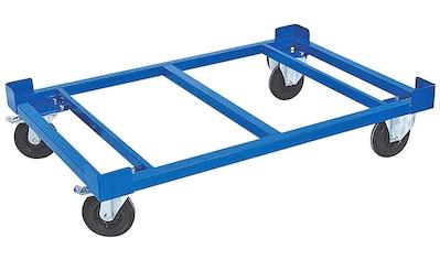 Transportroller, Ladefläche LxBxH 1210x810x275 mm, Tragkraft 1000 kg, Rad-ØxB 200x50... kaufen