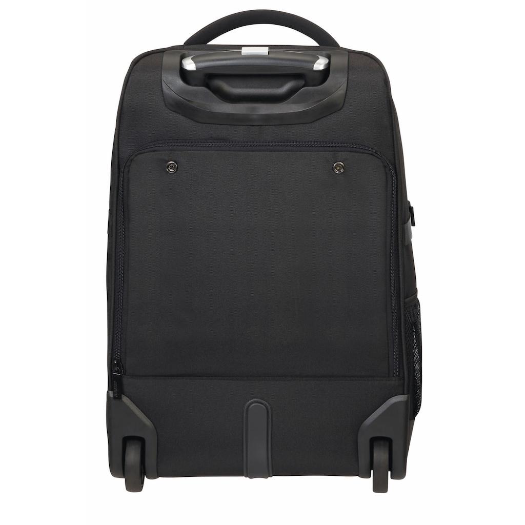 American Tourister® Laptoprucksack »At Work 15.6, black«, mit Trolleyfunktion