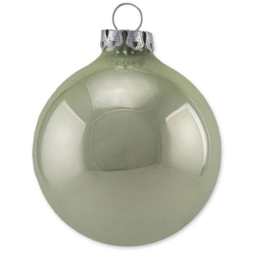 Thüringer Glasdesign Weihnachtsbaumkugel »Pastell«, (Set, 30 St.), Made in Germany