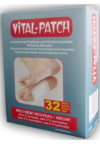 Maximex Pflaster »Vital Patch Fußpflaster«, mit Baumessig und Turmalinpulver kaufen