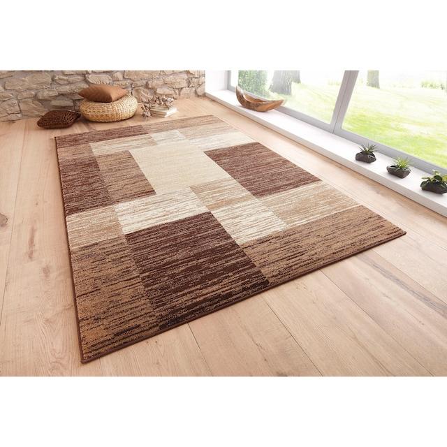 Teppich, »Melvin«, my home, rechteckig, Höhe 8 mm, maschinell gewebt