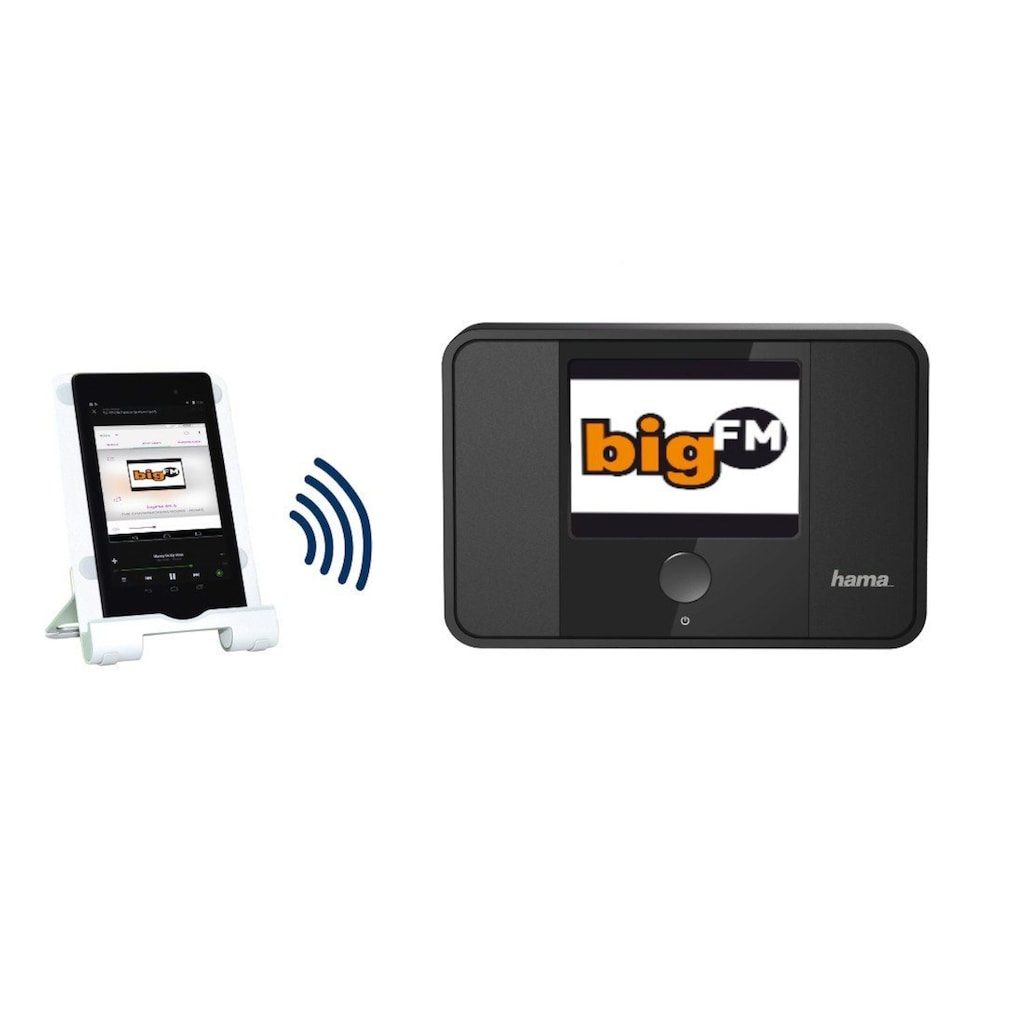 Hama Digital Tuner DIT1000MBT Internetradio/Digitalradio/DAB+ »Multiroom/Bluetooth/App/WLAN«