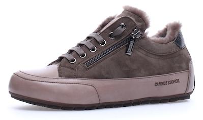 Candice Cooper Sneaker »Stone-Olivia«, mit praktischem Außenreißverschluss kaufen