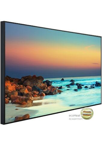 Papermoon Infrarotheizung »Sonnenuntergang über dem Meer«, sehr angenehme Strahlungswärme kaufen