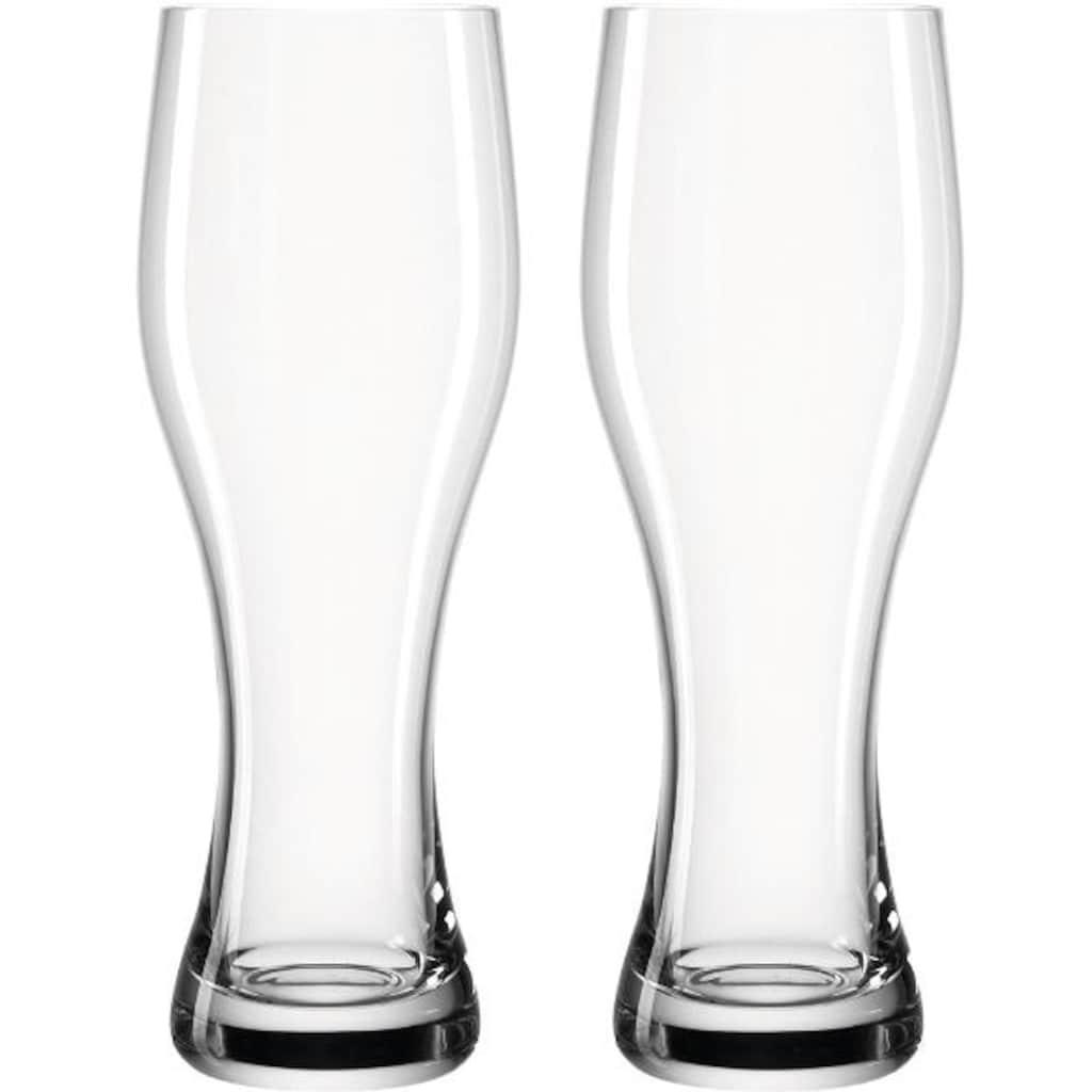 LEONARDO Bierglas »Taverna«, (Set, 8 tlg.), Inhalt 0,5 Liter, Höhe 24 cm, 8-teilig