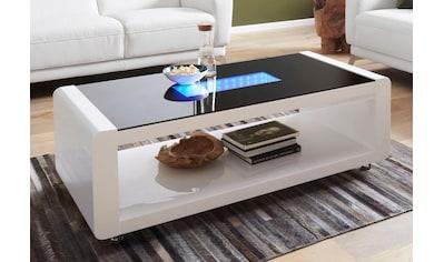 RAUM.ID Couchtisch Mit 3D   LED   Beleuchtung, Auf Rollen Kaufen