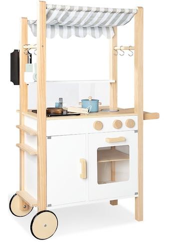 Pinolino® Spielküche »Street Kitchen Jamie«, (24 St.), FSC®-Holz aus gewissenhaft... kaufen