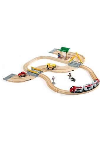 """BRIO® Spielzeug - Eisenbahn """"BRIO® WORLD Straßen & Schienen Reisezug Set"""" kaufen"""