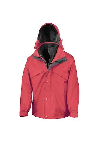 Result 3 - in - 1 - Funktionsjacke »Herren 3 - in - 1 StormDri Jacke mit Reißverschluss und Druckknöpfen, wasserabweisend, winddicht« kaufen
