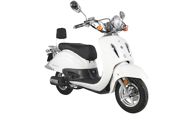 Alpha Motors Motorroller »Retro Firenze«, 3 PS, 50 ccm, 45 km/h, weiß kaufen