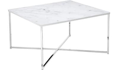 SalesFever Couchtisch, Tischplatte in Marmoroptik kaufen
