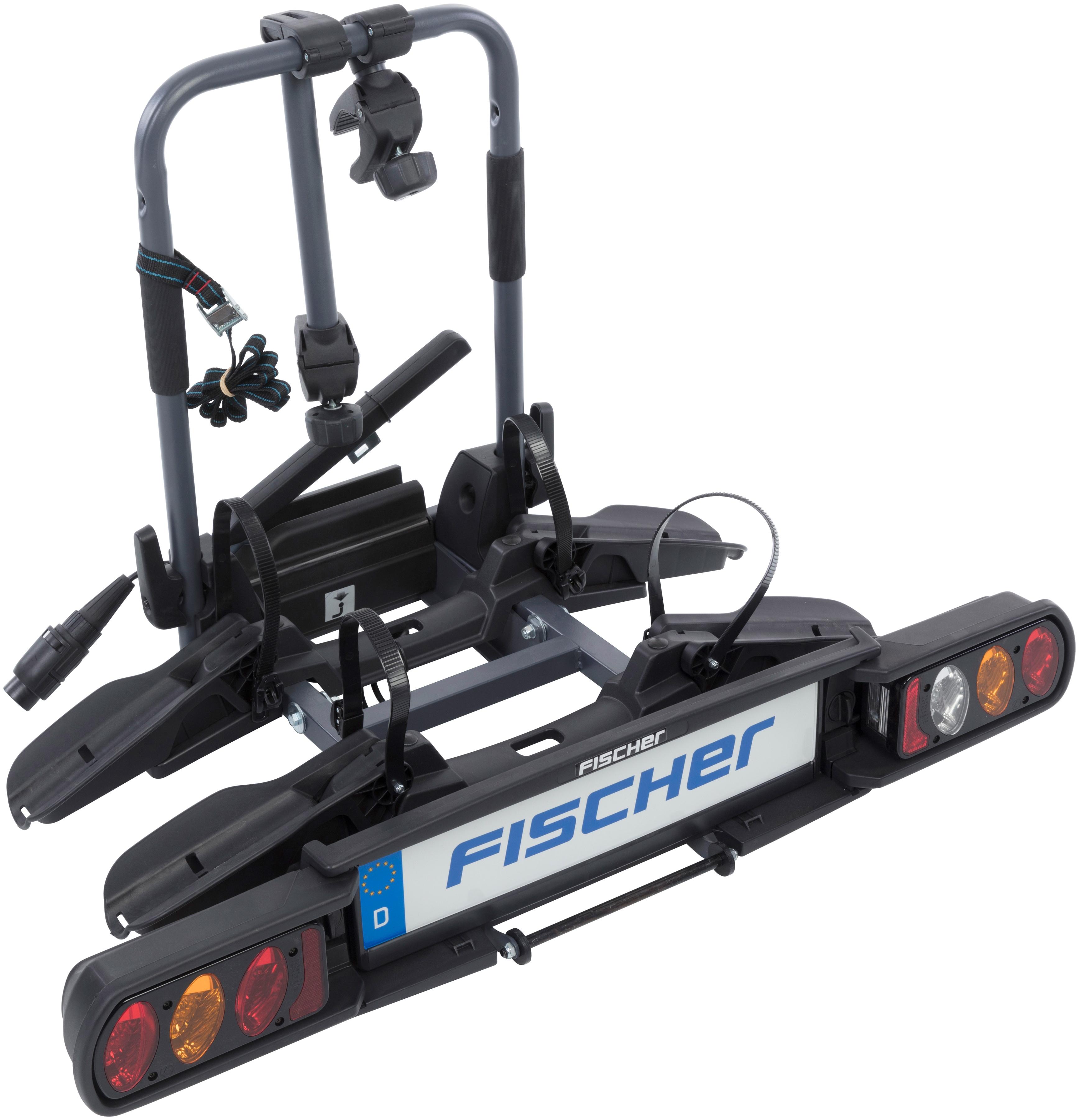 FISCHER Fahrräder Heckfahrradträger ProlineEvo schwarz Fahrradträger Autozubehör Reifen