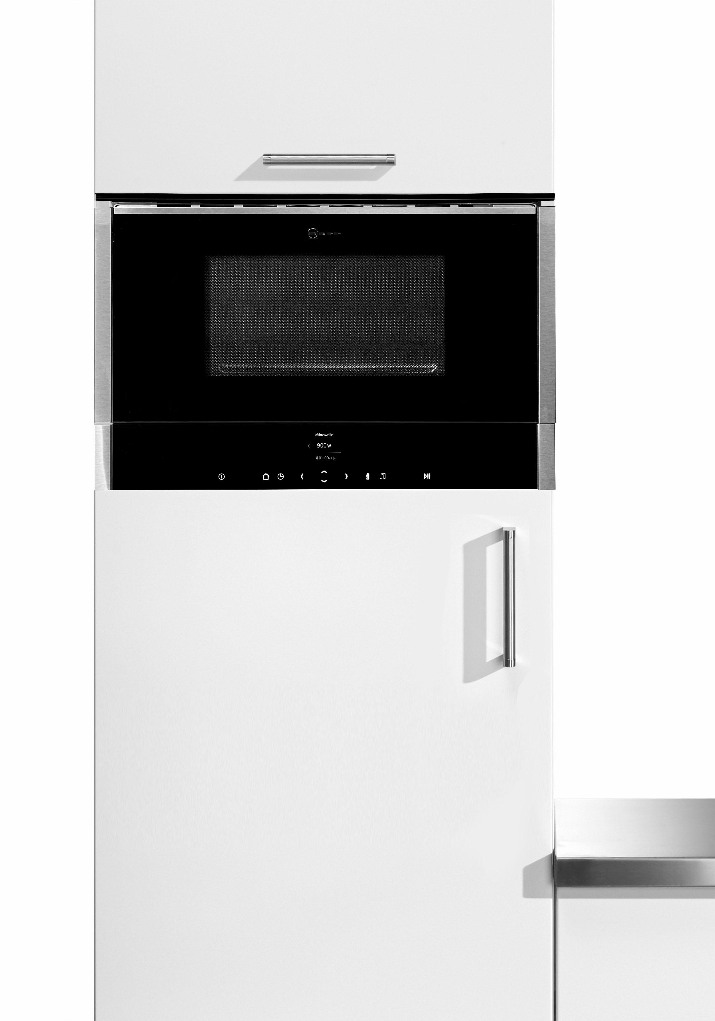NEFF Einbau-Mikrowelle C17WR00N0 900 W | Küche und Esszimmer > Küchenelektrogeräte > Mikrowellen | Schwarz | Neff