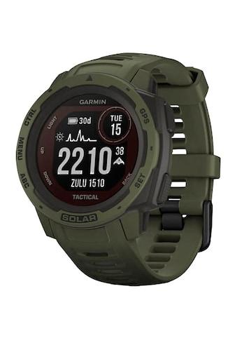 Garmin Smartwatch »Instinct Solar Tactical Edition«, ( ) kaufen