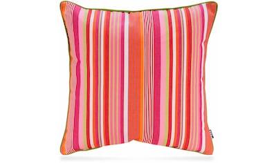 H.O.C.K. Dekokissen »Yucatan Stripes«, mit attraktivem Streifendesign kaufen