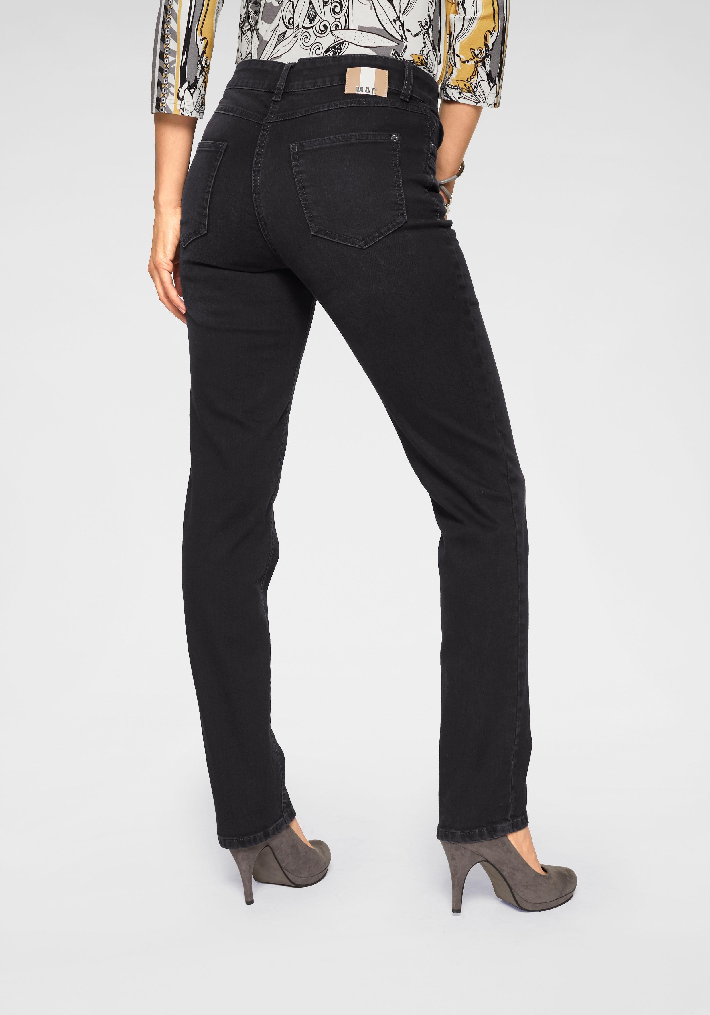MAC Gerade Jeans Angela New | Bekleidung > Jeans > Gerade Jeans | Schwarz | Mac