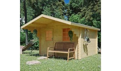 Kiehn - Holz Gartenhaus »Burgberg 1«, BxT: 350x449 cm, inkl. Vordach und Fußboden kaufen