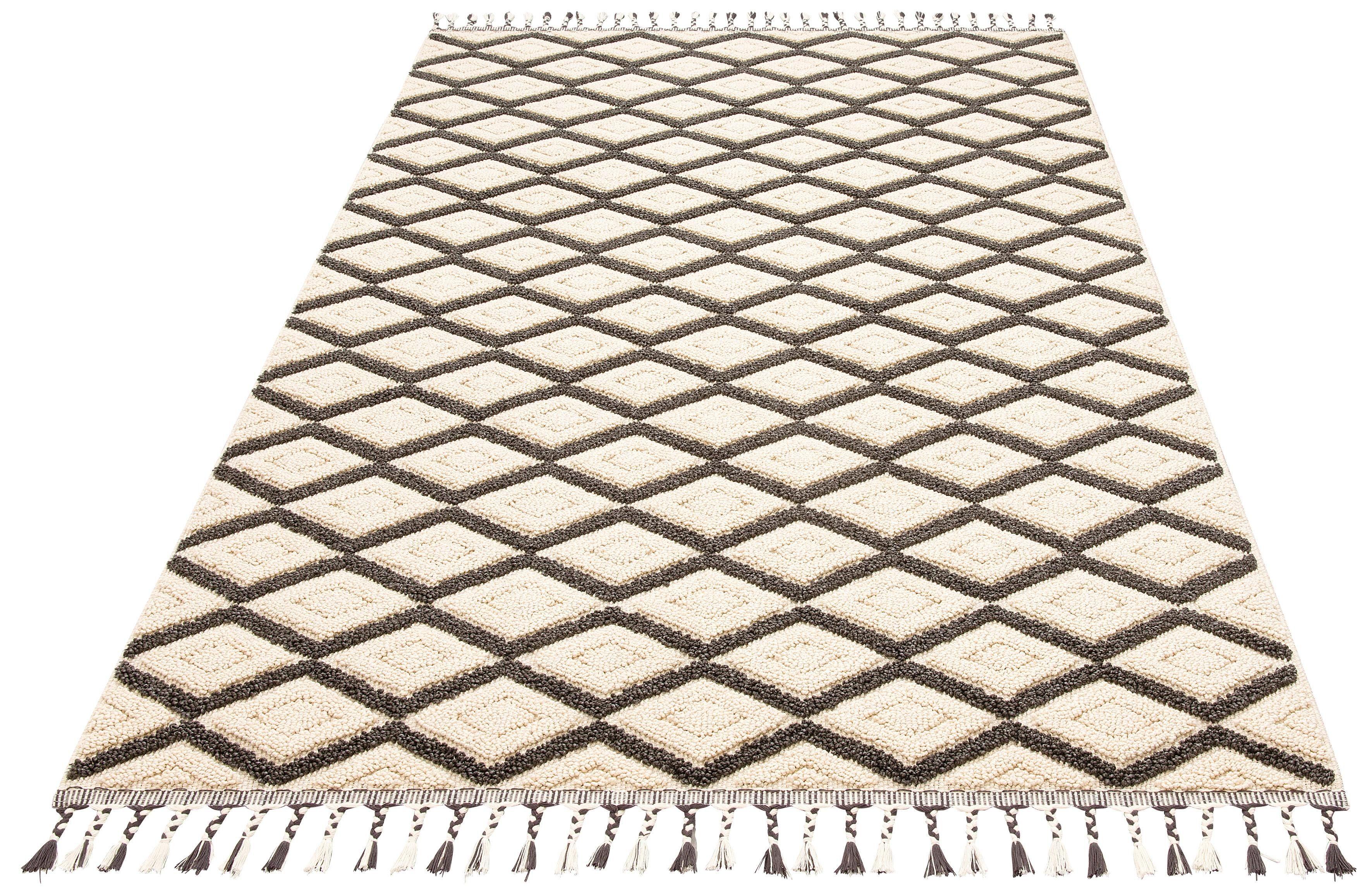 Teppich Hagen Home affaire rechteckig Höhe 18 mm maschinell gewebt