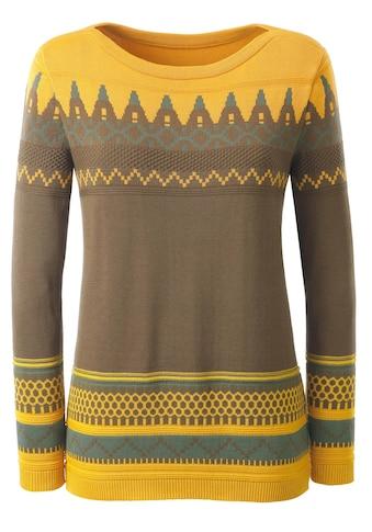 Casual Looks Pullover im hübschen Strickmuster kaufen