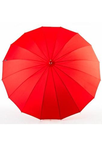 Euroschirm Stockregenschirm »Metropolitan®, rot« kaufen