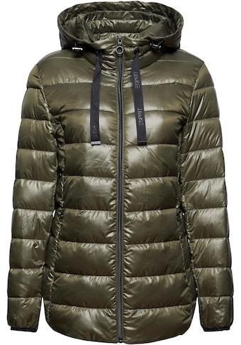Esprit Steppjacke, mit seitlichen Zippern für mehr Komfort kaufen