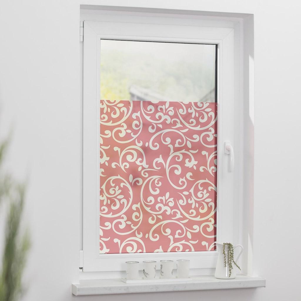 LICHTBLICK ORIGINAL Fensterfolie »Ornamente«, 1 St., blickdicht, strukturiertKlebepunkte