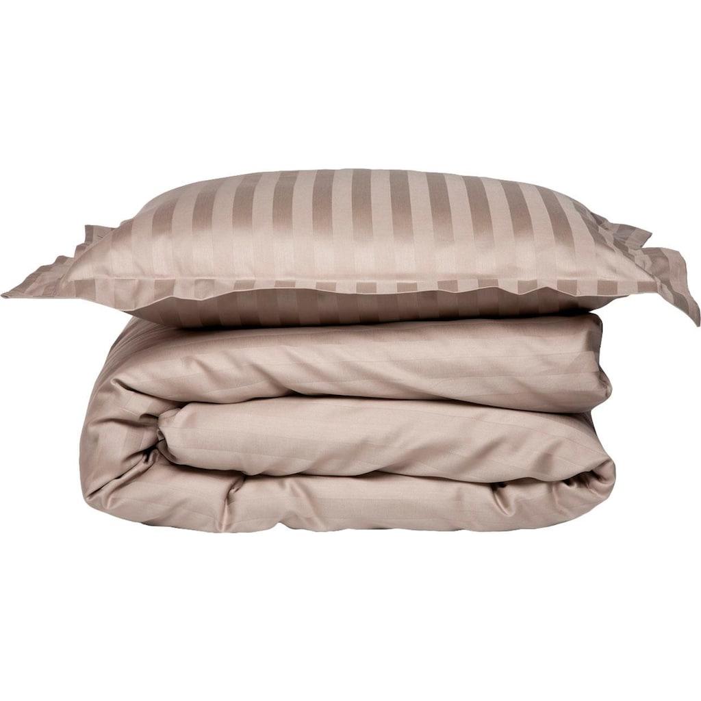 damai Bettwäsche »Streifsatin«, mit dezenten Streifen