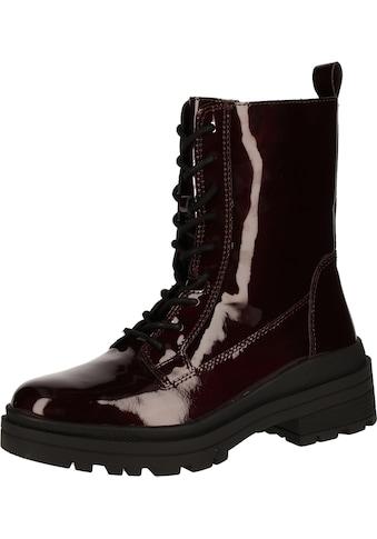 Caprice Schnürstiefelette »Leder« kaufen
