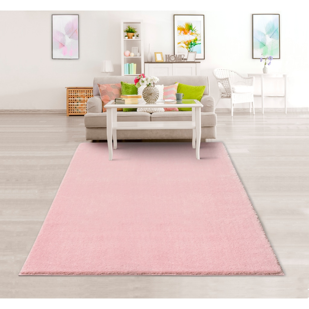 Hochflor-Teppich, »Cosima«, Guido Maria Kretschmer Home&Living, rechteckig, Höhe 30 mm, maschinell gewebt