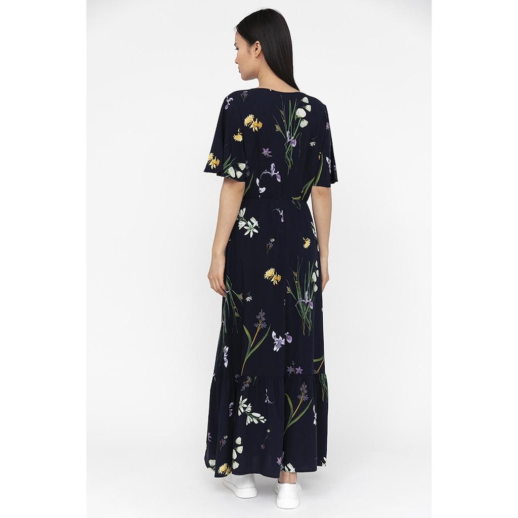 Finn Flare Jerseykleid, mit zartem Blumenmuster