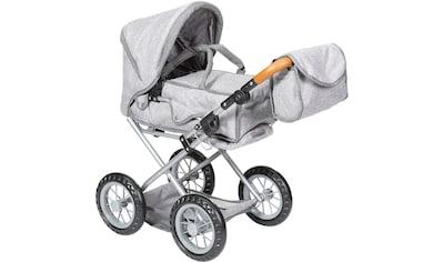 Knorrtoys® Kombi-Puppenwagen »Ruby - stone brown« kaufen