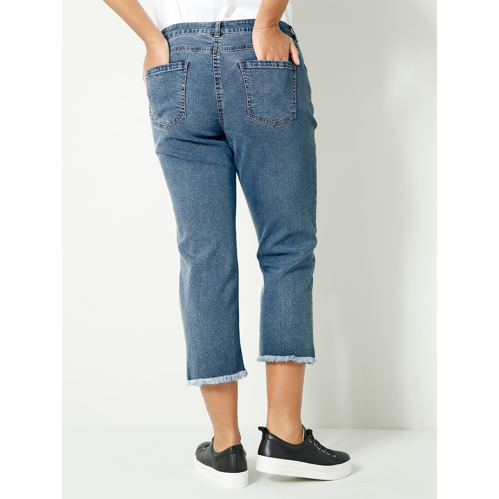 Angel of Style 7/8-Jeans, mit Sternen