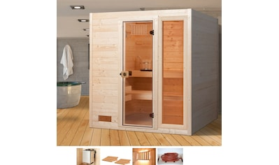 WEKA Sauna »Lars Trend 2«, 189x189x203,5 cm, 9 kW Ofen mit int. Steuerung kaufen