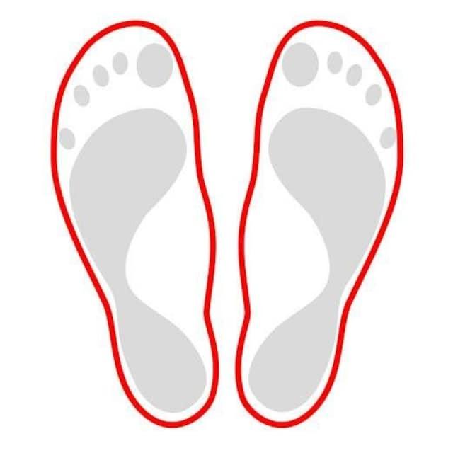Fußgut Aktivsohlen, «Aktiv-Einlagen», (Packung, 2-tlg.
