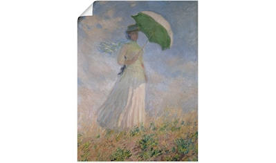 Artland Wandbild »Frau mit Sonnenschirm, Susanne Hoschedé« kaufen