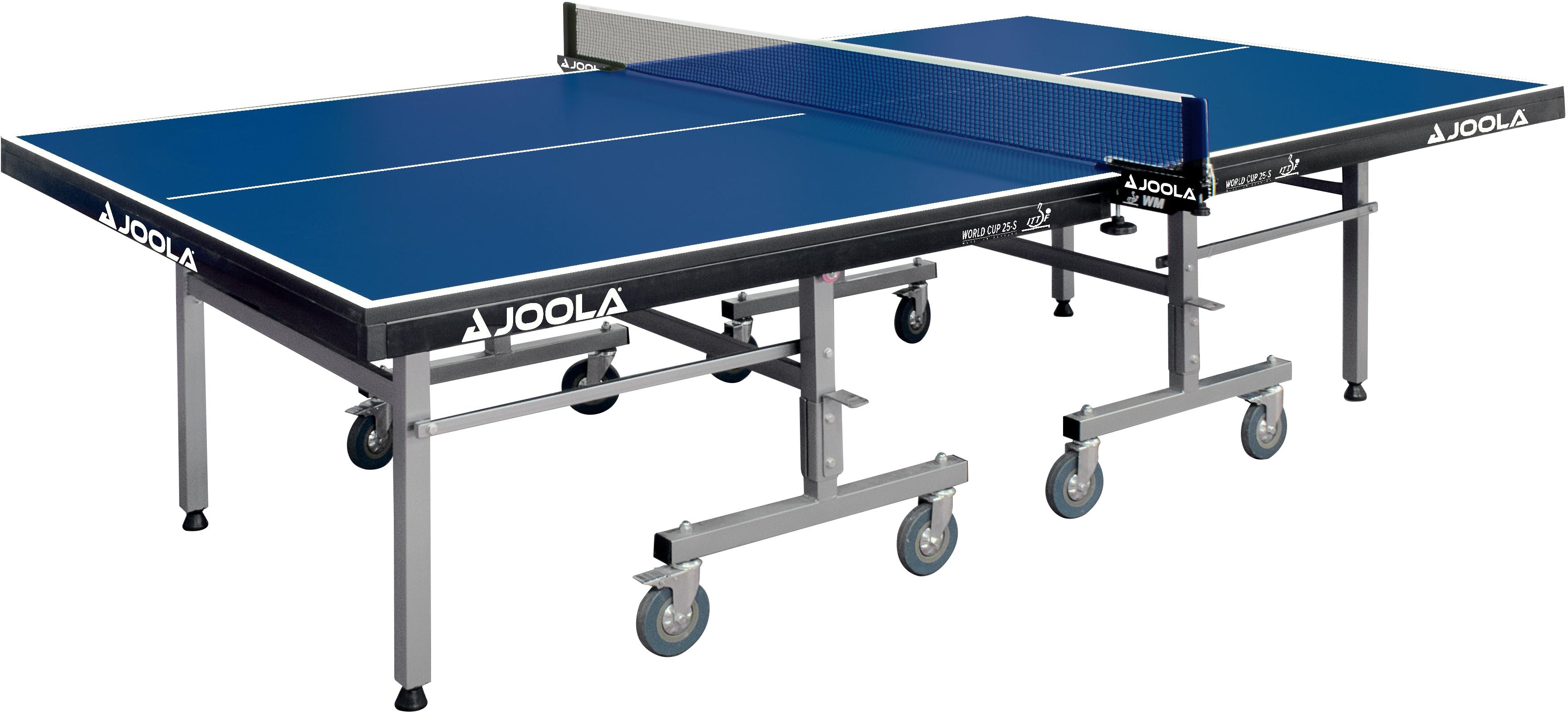 Joola Tischtennisplatte World Cup 25-S blau Tischtennis-Ausrüstung Tischtennis Sportarten