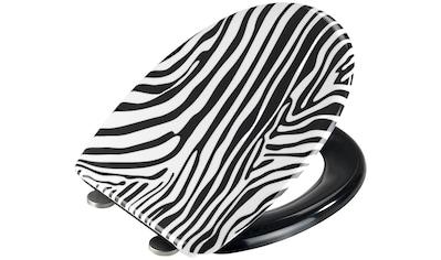 WENKO WC-Sitz »Wild«, mit Softclose, aus Duroplast kaufen