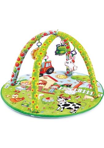 Babyjem Spielbogen »Aktiv Bauernhof«, mit Krabbeldecke; Made in Europe kaufen